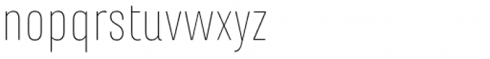 Marianina FY Thin Font LOWERCASE