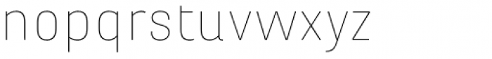 Marianina X-wide FY Thin Font LOWERCASE