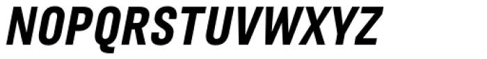 Marianina wide FY Black Italic Font UPPERCASE