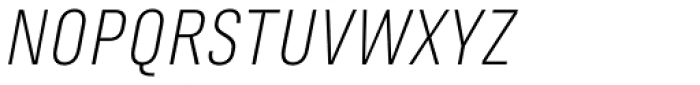 Marianina wide FY Light Italic Font UPPERCASE