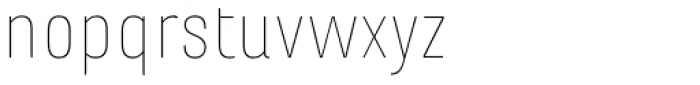 Marianina wide FY Thin Font LOWERCASE