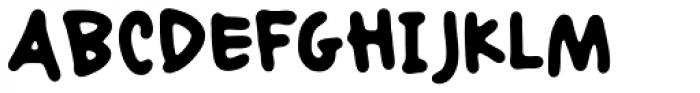 Mariasfont Medium Font UPPERCASE