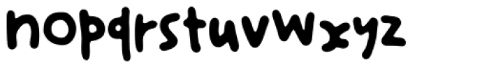 Mariasfont Medium Font LOWERCASE