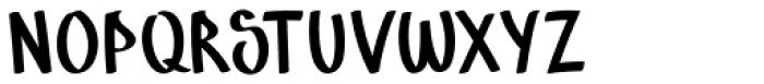 Marins Perdus Regular Font UPPERCASE