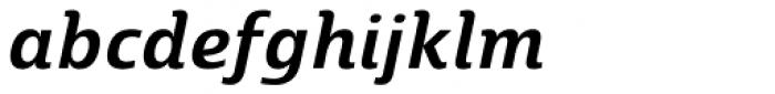 Marintas SemiBold Italic Font LOWERCASE