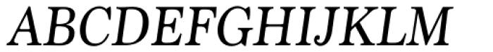 Marion Italic Font UPPERCASE