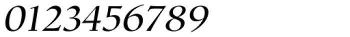 Mariposa Book Italic Font OTHER CHARS