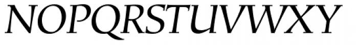 Mariposa Book Italic Font UPPERCASE