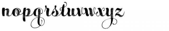 Maris Halftone Bold Font LOWERCASE