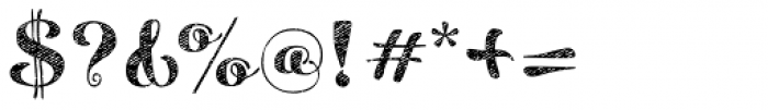 Maris Jean Black Font OTHER CHARS