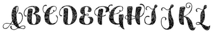 Maris Jean Black Font UPPERCASE