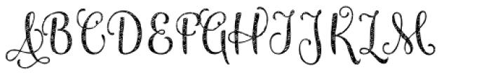 Maris Jean Light Font UPPERCASE