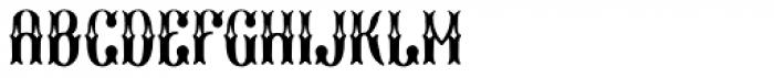 Marisco Deluxe Font UPPERCASE