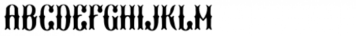 Marisco Filled Font UPPERCASE