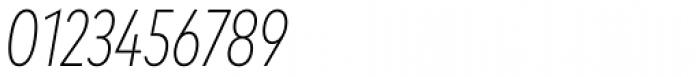 Mark OT Cond Extlight Italic Font OTHER CHARS