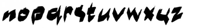 Marker Moe II Font LOWERCASE