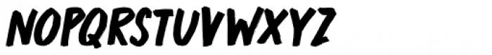 Market Square Marker Italic Font UPPERCASE