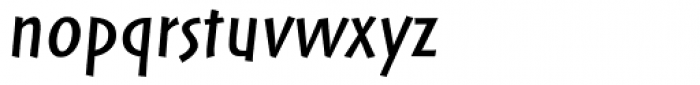 Markin Italic Font LOWERCASE