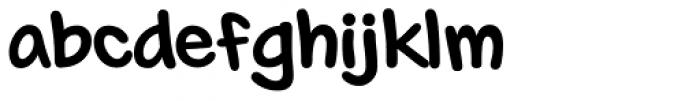 Markup Font LOWERCASE