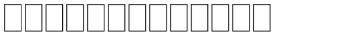 Marlett Font LOWERCASE