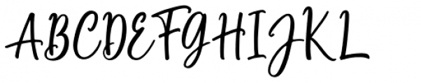 Marliesta Regular Font UPPERCASE