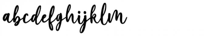 Marliesta Regular Font LOWERCASE