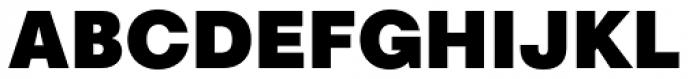 Marlin Geo SQ Extra Black Font UPPERCASE