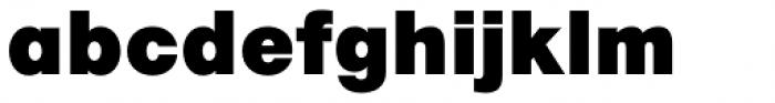 Marlin Geo SQ Extra Black Font LOWERCASE