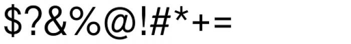 Marlin Geo SQ Semi Light Font OTHER CHARS