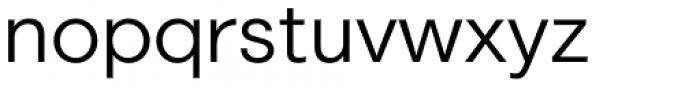 Marlin Geo SQ Semi Light Font LOWERCASE