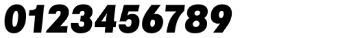 Marlin Geo Slant Black Font OTHER CHARS