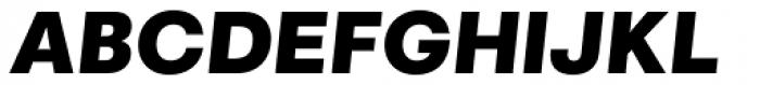 Marlin Geo Slant Black Font UPPERCASE