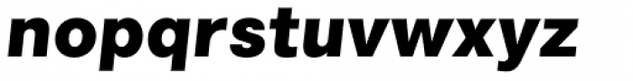 Marlin Geo Slant Black Font LOWERCASE