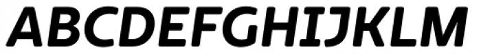 Marlon Pro Ultra Bold Italic Font UPPERCASE