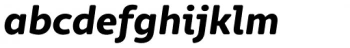 Marlon Pro Ultra Bold Italic Font LOWERCASE
