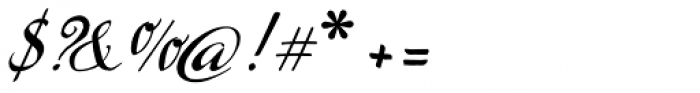 Marmelade Basic Font OTHER CHARS