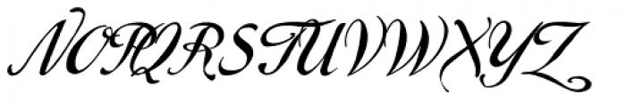 Marmelade Basic Font UPPERCASE