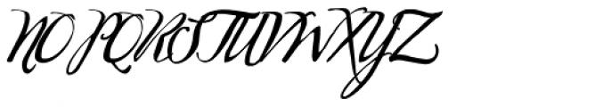 Marmelade Print Font UPPERCASE