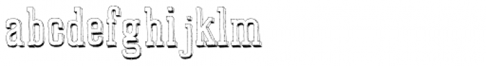 Marque Regular Font UPPERCASE