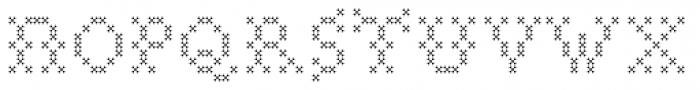 Marquer Flair Quincunx Font UPPERCASE
