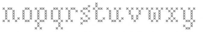Marquer Flair Quincunx Font LOWERCASE