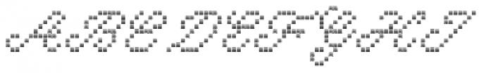 Marquer Script Zigzag Font UPPERCASE