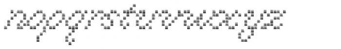 Marquer Script Zigzag Font LOWERCASE