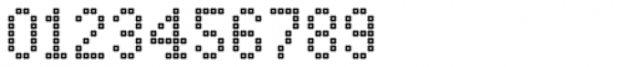 Marquer Square Squaredot Font OTHER CHARS