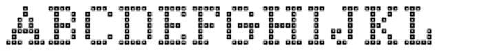 Marquer Square Squaredot Font UPPERCASE