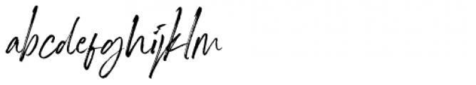 Marquette Alternate Font LOWERCASE