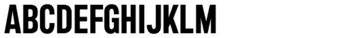 Marsden Compact Bold Font UPPERCASE