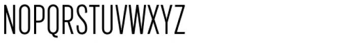 Marsden Compact Light Font UPPERCASE