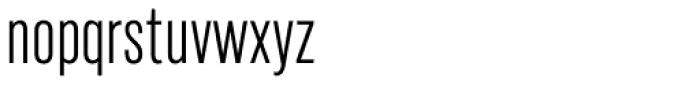 Marsden Compact Light Font LOWERCASE