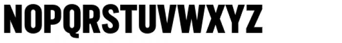 Marsden Compressed Heavy Font UPPERCASE